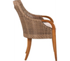 Lane Venture Edgewood Outdoor Teak and Synthetic Wicker Dining Arm Chair