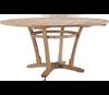 "Lane Venture Edgewood Outdoor Teak 63"" Round Dining Table"