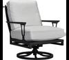 Lane Venture Winterthur Estate Swivel Rocker Lounge Chair Mesh Back