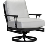 Lane Venture Winterthur Estate Swivel Rocker Lounge Chair X Back