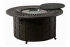 """Hanamint Mayfair Outdoor 48"""" Round Enclosed Gas Fire Pit"""