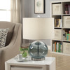 Crestview Tinted Glass Ball Lamp 20.5""