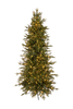 7.5' ForeverTree Slim Nordic Fir EasyLite Color Changing with Remote