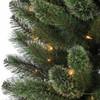 7.5' Prelit Cashmere Pencil Artificial Christmas Tree