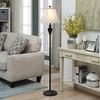 """Bronze Finish Metal Floor Lamp 58"""""""