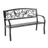 Cardinals Metal Garden Bench