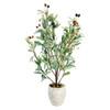 """Olive Leaf Pot 26"""""""