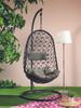 Riga Hanging Chair Black