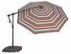 Treasure Garden 10' AG19 Octagon Cantilever Umbrella with BX Base