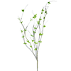 """Leaf Sprout Branch Spray 34"""" Natural Set of 6"""