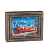 "Raz Imports 10"" Santa Express Lighted Water Picture Frame"