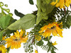 Mixed Sunflower Artificial Wreath 24""