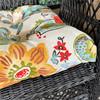 Outdoor Alatriste Ivory 3 Piece Cushion Set