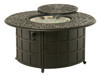 """Hanamint Tuscany Outdoor 48"""" Round Enclosed Gas Fire Pit"""