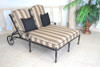 Gensun Grand Terrace Outdoor Double Chaise Lounge