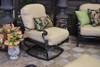 Gensun Florence Outdoor Swivel Rocking Lounge Chair