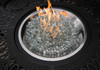 Hanamint Sherwood Outdoor Hexagonal Enclosed Gas Fire Pit Table