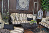 "Gensun Grand Terrace Outdoor 24"" x 42"" Coffee Table"