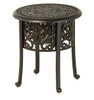 "Hanamint Tuscany Outdoor 20"" Round Ice Bucket Side Table"