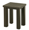 "Hanamint Sherwood Outdoor 16"" x 18"" Rectangular Tea Table"