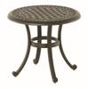 """Hanamint Bella Outdoor 21"""" Round Tea Table"""