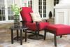 Woodard Cortland Outdoor Cushioned Swivel Rocking Lounge Chair