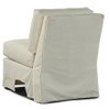 Lane Venture Harrison Outdoor Upholstered Armless Swivel Chair
