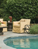 Lane Venture Harrison Outdoor Upholstered Swivel Chair