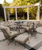 Woodard Terrace Outdoor Cushioned Ottoman