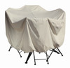 "Treasure Garden 36"" Bistro/Cafe Table & Chairs w/4 Ties Protective Furniture Cover"