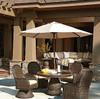 Lane Venture South Hampton Outdoor Swivel Dining Chair
