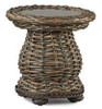 Lane Venture South Hampton Outdoor Accent Table w/Glass
