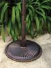 Treasure Garden Classic Cast Iron 50 lb. Umbrella Base in Bronze Finish