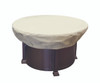 "Treasure Garden 36"" - 42"" Round Chat Table or Fire Pit Protective Cover"