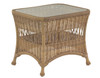 Woodard Sommerwind Outdoor End Table w/Glass Top