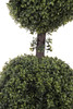 """44"""" Artificial Boxwood Double Ball Topiary"""