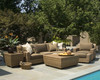 Woodard Saddleback Outdoor Sofa