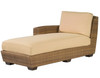Woodard Saddleback Outdoor Left Arm Facing Chaise Lounge Sectional