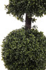 "52"" Artificial Deluxe Boxwood Ball Cone Topiary"