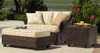 Woodard Sonoma Outdoor Ottoman and a Half