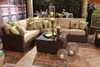 Erwin Biscayne Outdoor 3 Piece Sectional Sofa (Ship time is 4-6 weeks)
