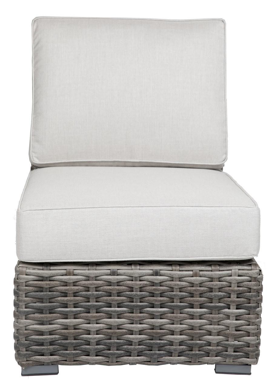 Catalina Outdoor Armless Club Chair W Cushion