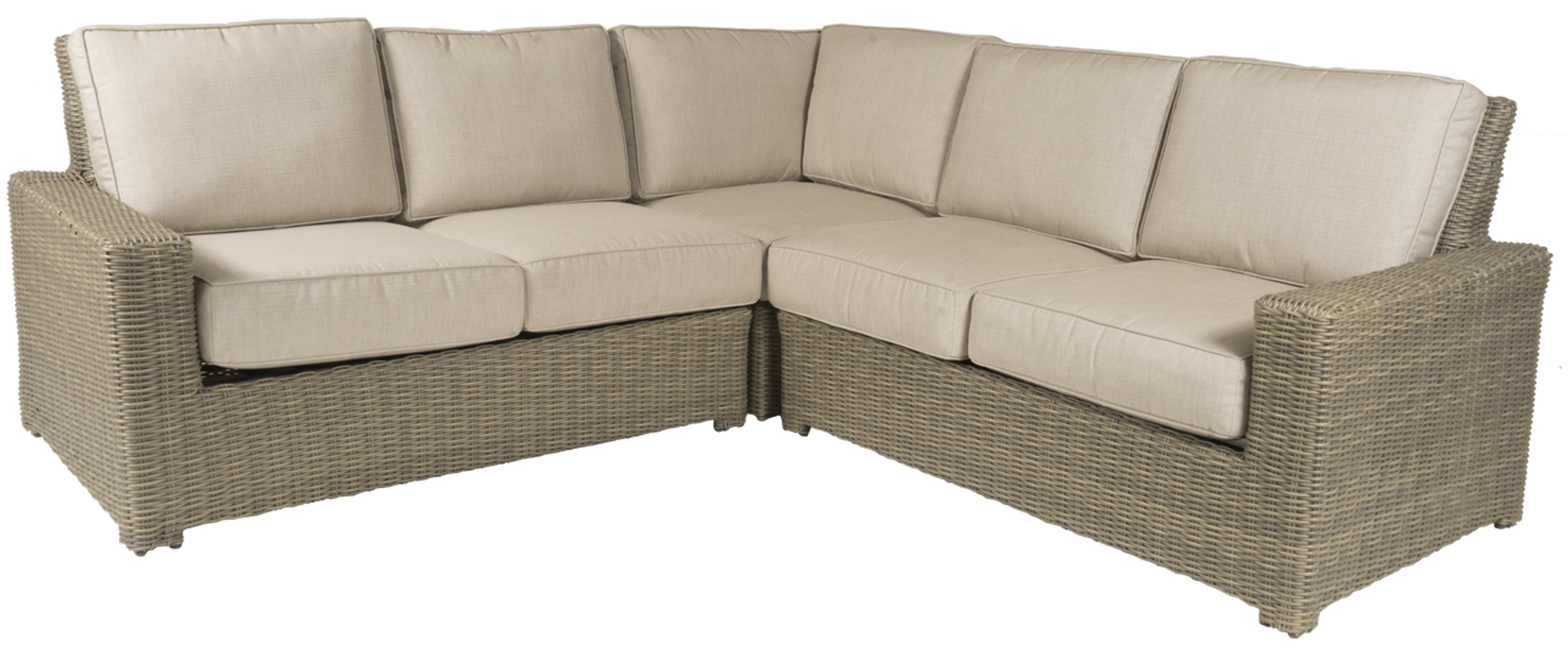 Outdoor sectional Teak Erwin Napa Outdoor Sectional Sofa Wcushions ships In 46 Weeks Real Simple Erwin Napa Outdoor Sectional Sofa Wcushions