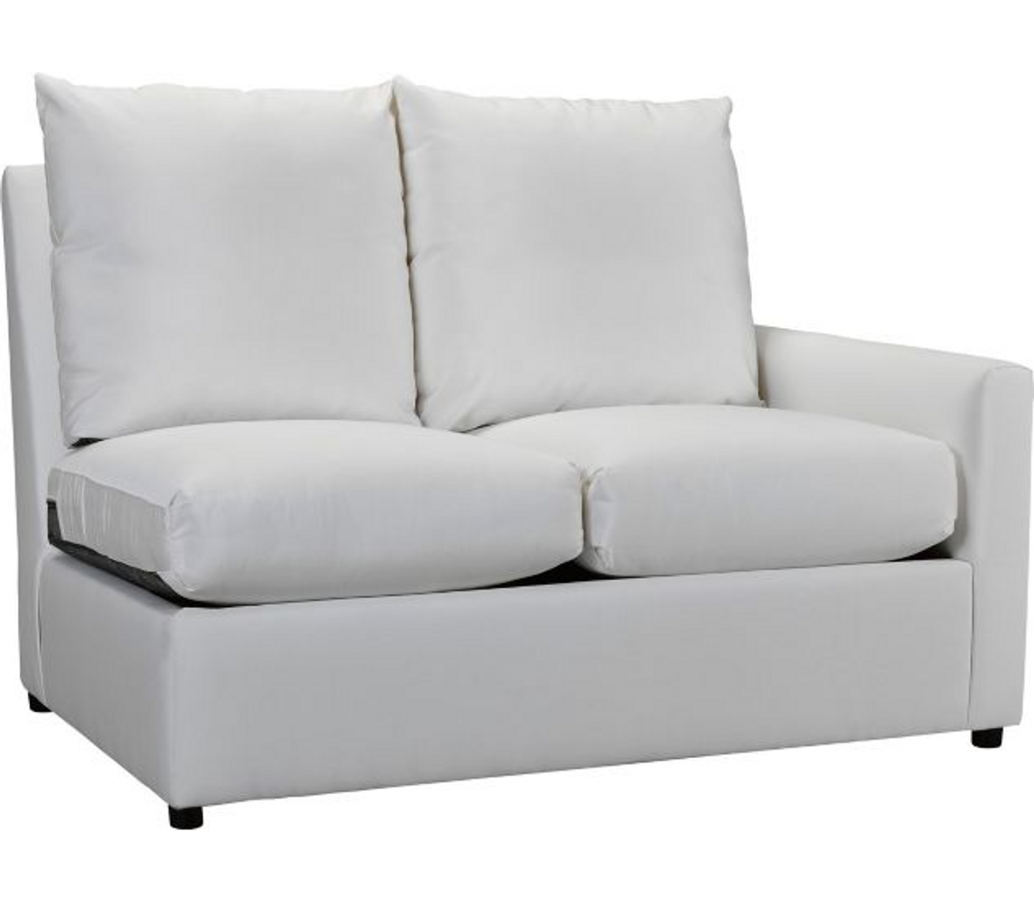 Miraculous Lane Venture Outdoor Upholstery Charlotte Rf One Arm Loveseat Pabps2019 Chair Design Images Pabps2019Com