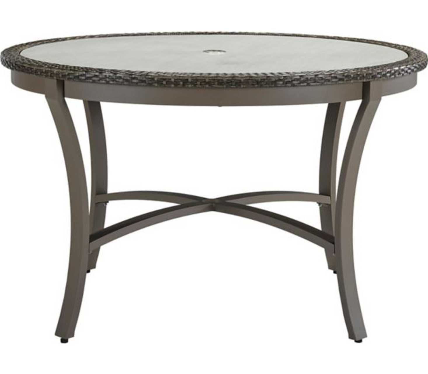 Lane Venture Oasis Outdoor 48 Round Dining Table Trees N Trends