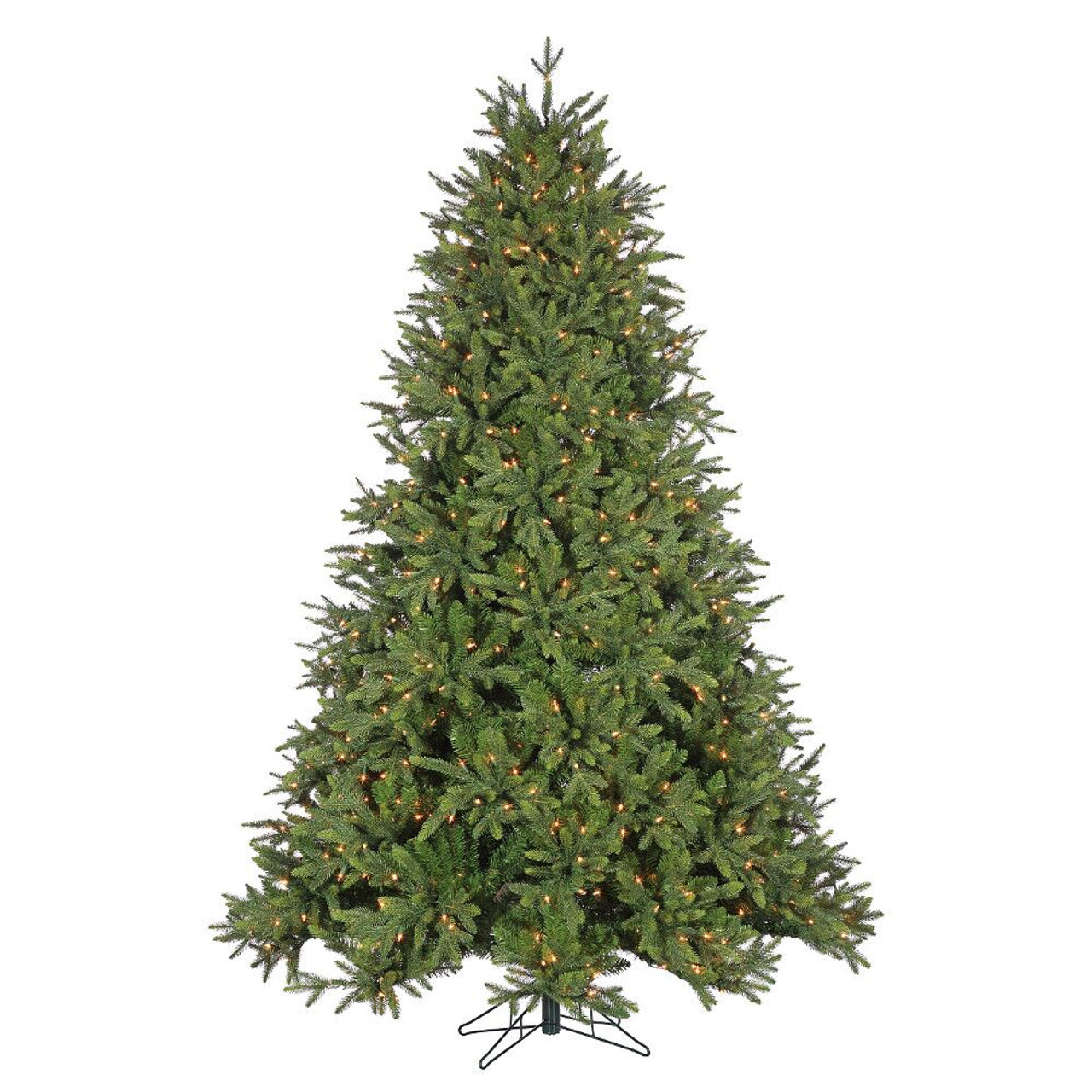 9 Deluxe Trinity Pine Prelit Led Artificial Christmas Tree