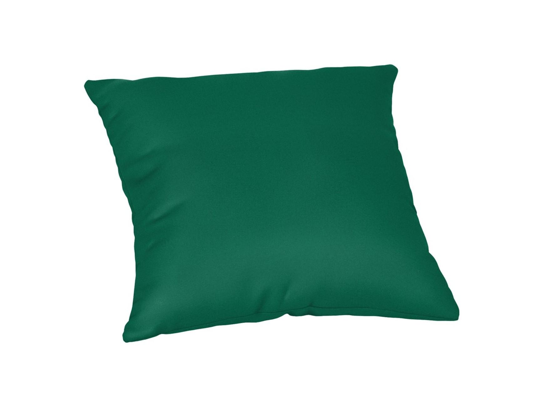Quick Ship Sunbrella 18 Square Throw Pillow Canvas Forest Green