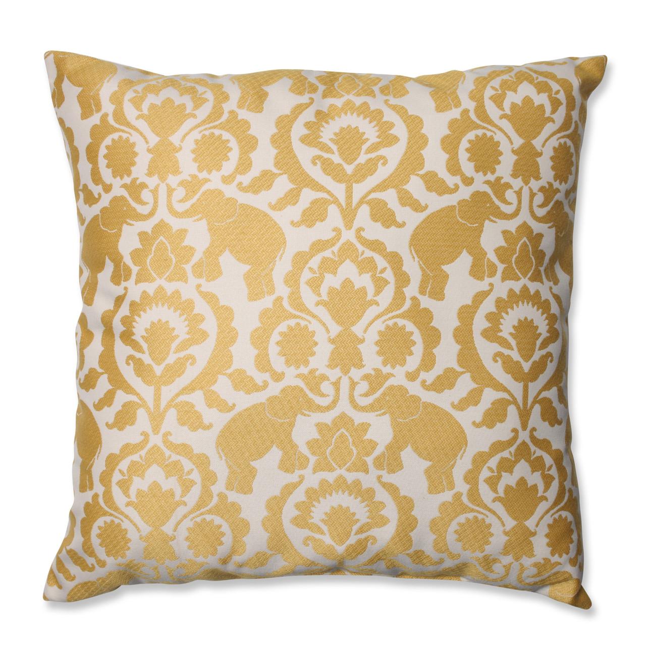 Pillow Perfect Madrid Persian Floor Pillow 24.5