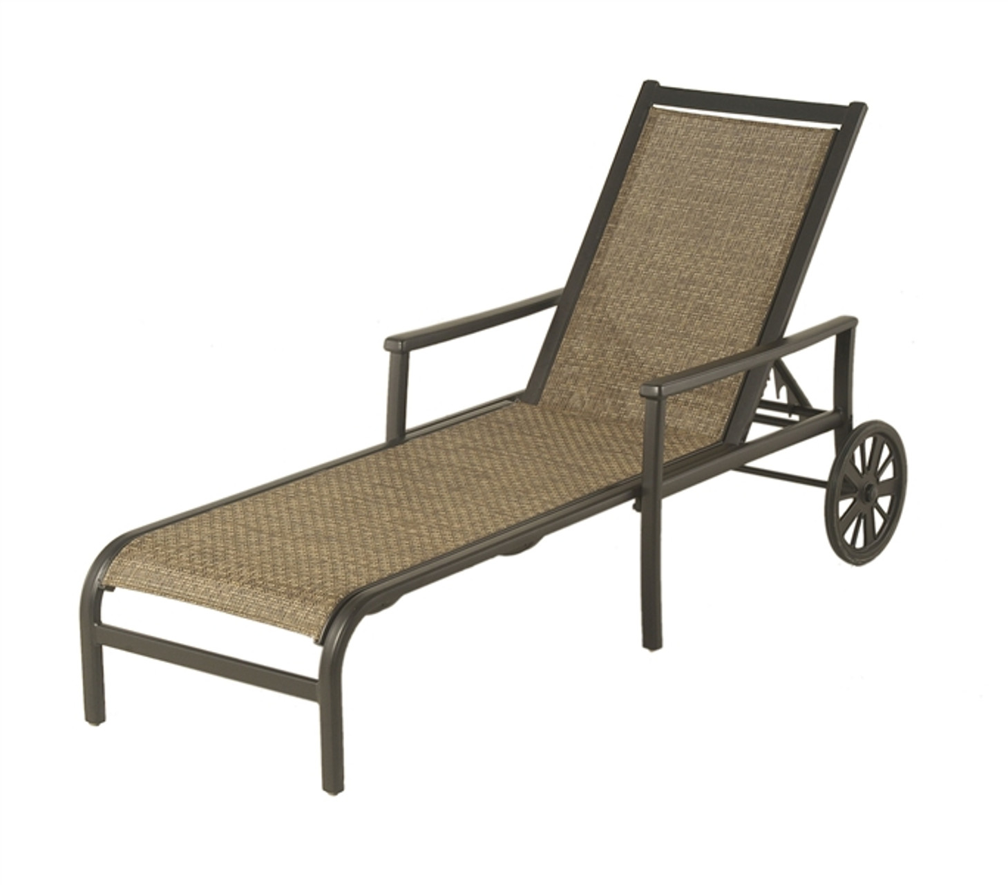 - Hanamint Stratford Outdoor Sling Chaise Lounge