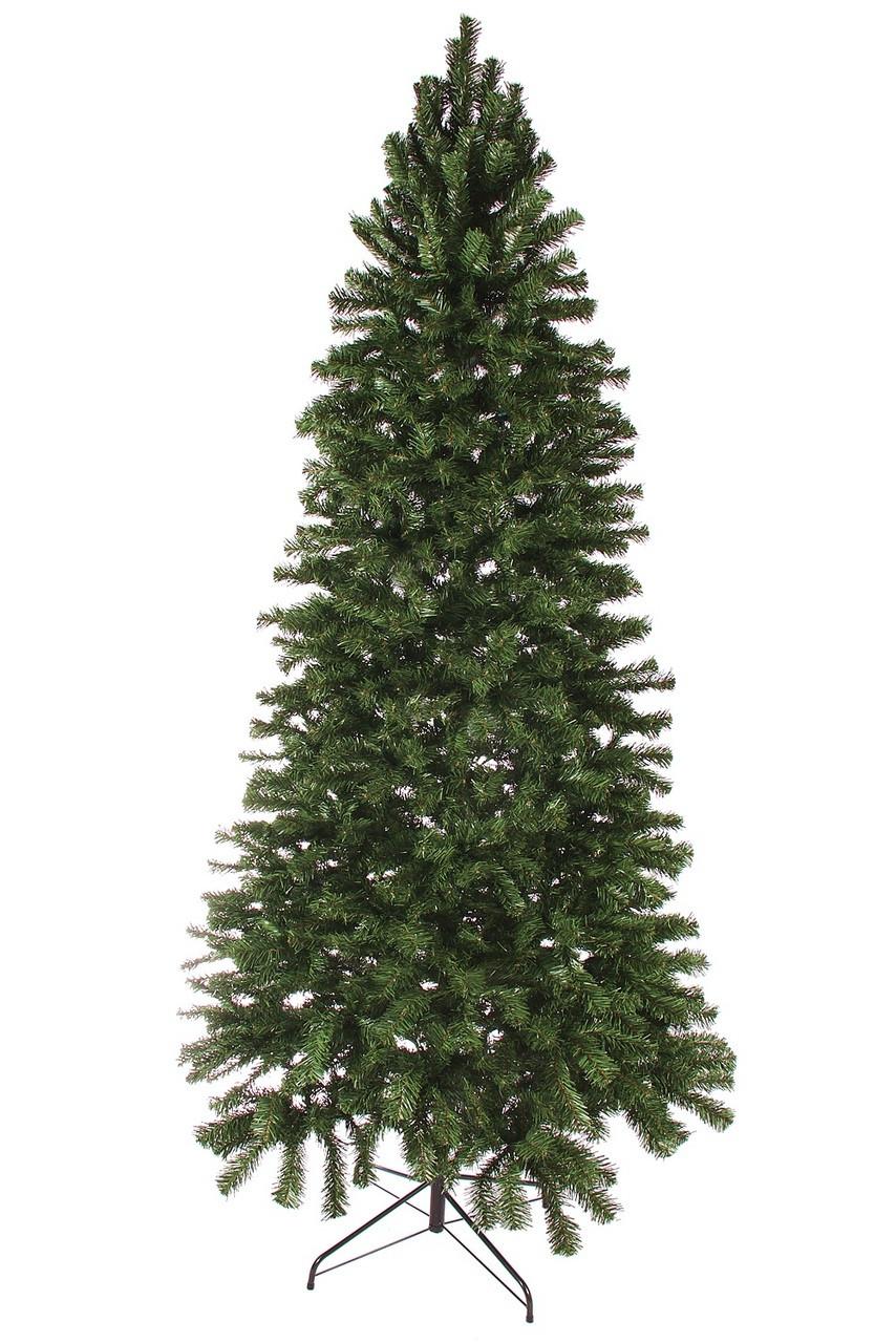 8 Slim Norway Spruce Artificial Hook Christmas Tree Unlit